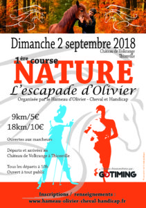 course a pied 2 septembre 2018